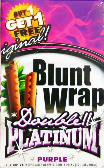 Blunt Wrap Platinum Purple