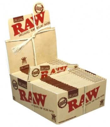 Raw Natural organic Papers