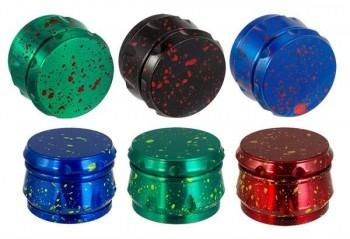 CNC Aluminium Grinder Drum Colour Splash 4-tlg ø 55mm