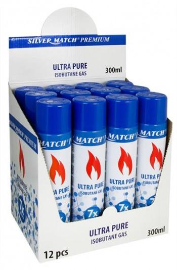 Silvermatch Premium Ultra Isobutan Gas 300ml