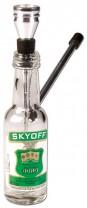 Flaschenpfeife Glas 15cm