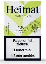 Heimat Hanf Pur Hanf-Zigaretten 100% CBD-Hanf