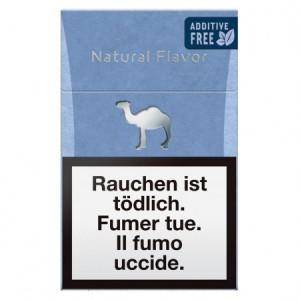 Camel Natural Flavor Blue Box
