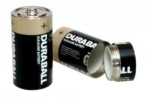 Batterie Geheimfach Duraball D