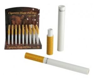 Geheimversteck als  Zigarette
