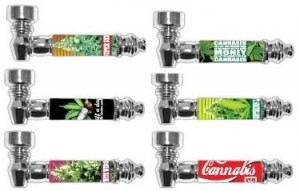 Cannabis Pfeifen vers. Motive