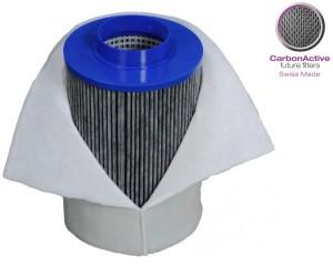 CarbonActive Aktivkohlefilter 300 m3/h 125mm