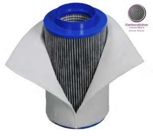 CarbonActive Aktivkohlefilter 400 m3/h 100mm