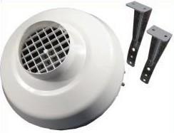 Rohrventilator 250 m³/h 100 mm