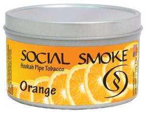 Social Smoke Orange