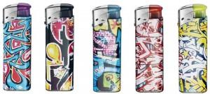 Graffiti Feuerzeug