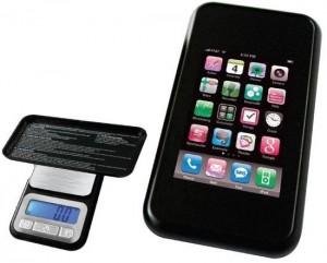 Smartphone Waage 100 x 0,01