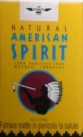 American Spirit Gelb