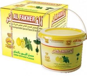 Al Fakher Zitrone + Minze
