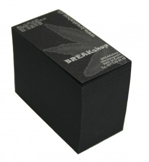 BREAKshop Filter Schwarz Silber