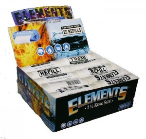 Elements King Size Papers Refills Box