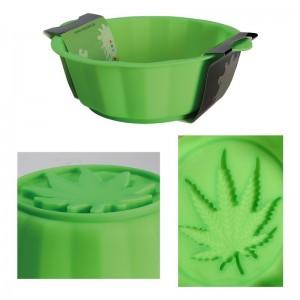 "Kuchenform ""Cannabis"" aus Silikon"