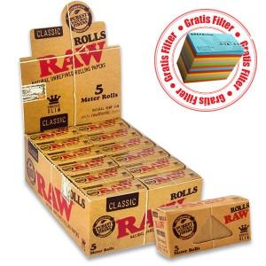 Raw Classic KingSize Slim Rolls