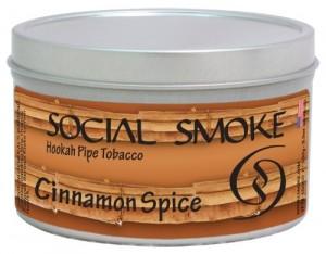 Social Smoke Cinnamon Spice 250g