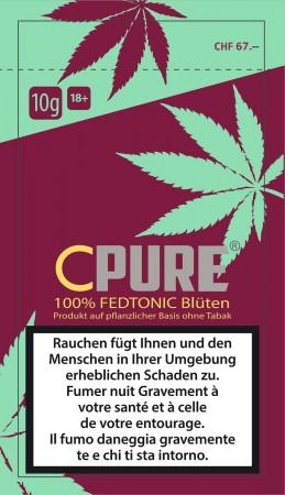 CPure Fedtonic CBD-Cannabis Tabakersatz 3g