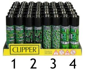 Clipper Feuerzeug Cannafonts