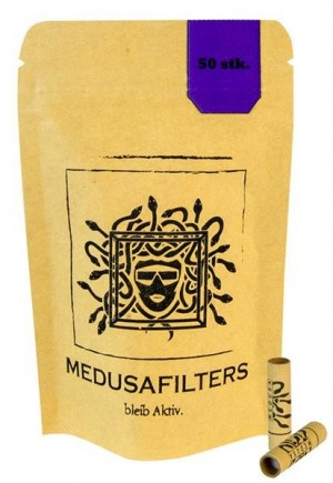 MEDUSA Aktiv-Cellulose Filter 6mm 50 Stk.