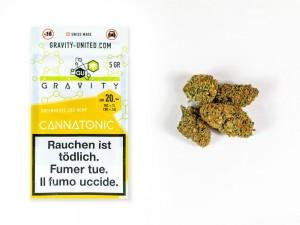 GRAVITY Cannatonic Hanfblüten Tabakersatz