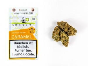 GRAVITY Caramel Hanfblüten Tabakersatz