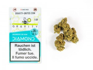 GRAVITY Diamond Hanfblüten Tabakersatz