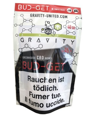 GRAVITY Bud-Get Hanfblüten Tabakersatz