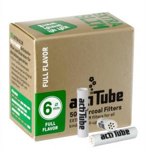 actiTube Full Flavor Extra Slim Aktivkohlefilter 50