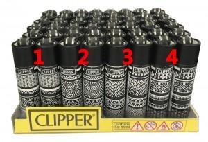 Clipper Feuerzeug Geometric