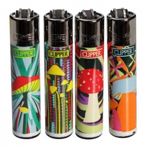 Clipper Feuerzeug Shrooms