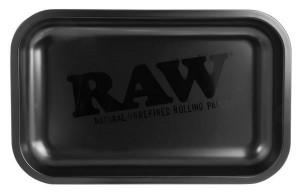 RAW Black Matte Dreh-Tablett Rolling Tray