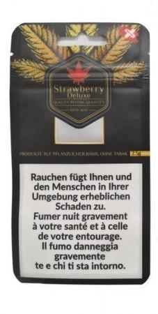 CBDeluxe Strawberry Deluxe CBD Hanfblüten Tabakersatz