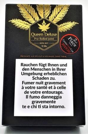 CBDeluxe PreRolled Queen Deluxe 3er Pack