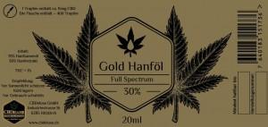 CBDeluxe Gold Öl 30%