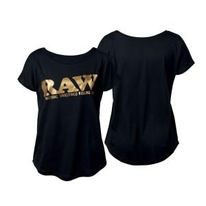 "RAW Shirt Black Gold ""RAW EDITION"""