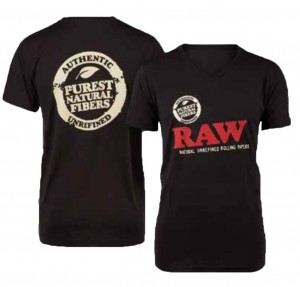 "RAW Shirt Authentic Black ""RAW EDITION"""