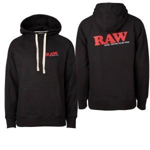 "RAW Hoodie Black ""RAW EDITION"""