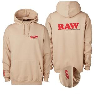"RAW Hoodie Sand ""RAW EDITION"""