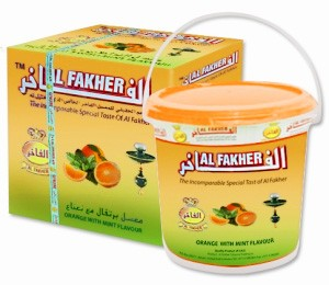 Al Fakher Orange mit Minze