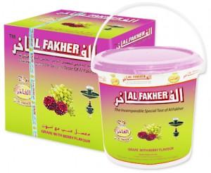 Al Fakher Trauben mit Berry