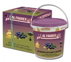 Al Fakher Blueberry Mint