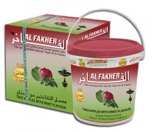 Al Fakher Doppelapfel Minze