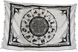 Batiktuch Astrology