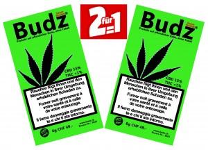 Budz Super Skunk Hanf Blüten Tabakersatz