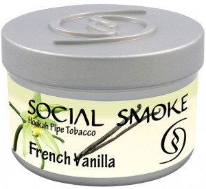Social Smoke French Vanilla 250g