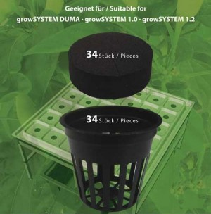 Gitternetztopf für growSYSTEMS 1.0 und 1.2