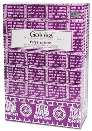 Goloka Happiness Lavendel Räucherstäbchen